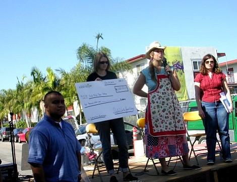 Isla Vista Food Coop awarded grants for school cooking classes and a community garden.