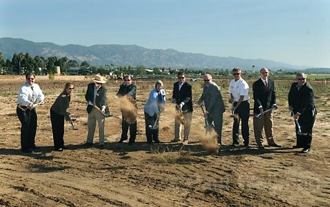 The ground is officially broken for Cabrillo Business Park