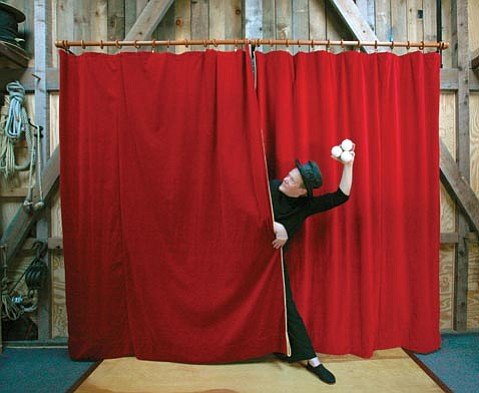 High-wire artist Philippe Petit brings his inimitable creativity and charm to Campbell Hall this Saturday, November 7.