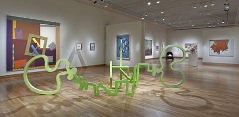 Patrick Nickell, <em>A New Beginning or Bitter End</em>, 2008. Acrylic on plywood and cardboard. Santa Barbara Museum of Art, Gift of the artist and Rosamund Felsen Gallery, Santa Monica