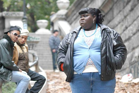 """<em>Precious: Based on the Novel Push by Sapphire</em> stars Gabourey """"Gabby"""" Sidibe as Precious, an abused young woman in 1980s Harlem struggling to realize her potential."""