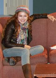 Alexia Dox as Izzy in UCSB's upcoming production of David Lindsay-Abaire's <em>Rabbit Hole</em>.
