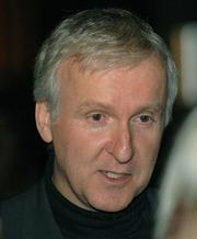 James Cameron in Santa Barbara to receive the S.B.I.F.F. Attenborough Award in 2006