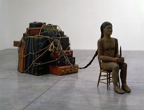 """Alison Saar's """"Coup"""" (2006)."""