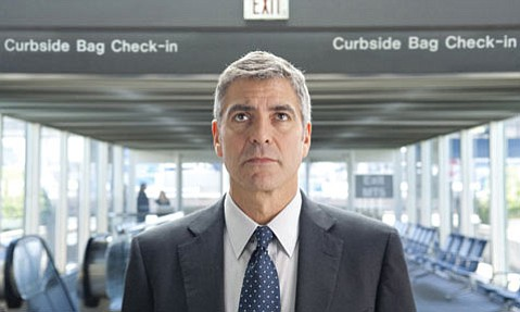 George Clooney is <em>Up in the Air</em> as a third party hired to fire employees from their positions.