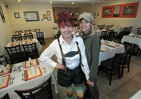 Brummis, the German Taste is a delicious and fun culinary adventure, thanks to Veronika Brumm (left) and her daughter, Ela.