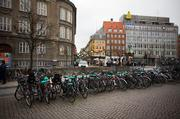Bikes are everywhere in Copenhagen and most of them aren&#39;t even locked. 
