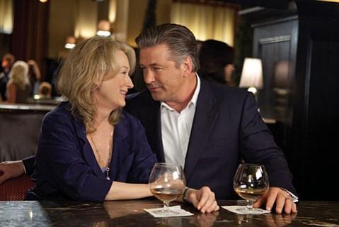 Meryl Streep and Alec Baldwin star in <em>It's Complicated.</em>