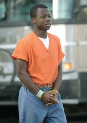 Eric Frimpong leaving the courthouse March 7, 2007