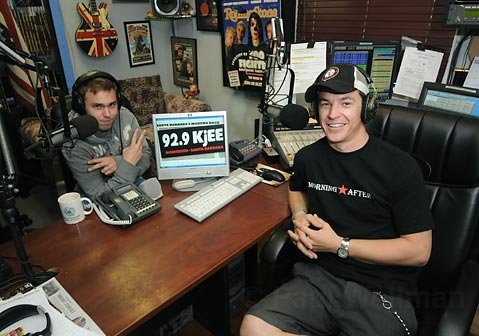 Adam and Spencer from KJEE's Morning Show