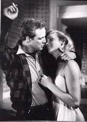 Eva Marie Saint and Marlon Brando
