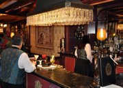 The bar at Club 33.