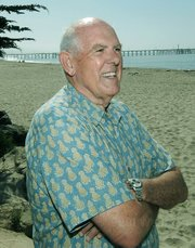 Dan Secord at Goleta Beach in July 2009