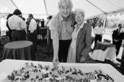 Fess Parker and Harriet Miller