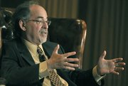David Horowitz during a Santa Barbara Tea Party sponsored event April 15, 2010