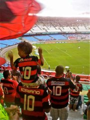 Carioca kids know from an early age which team is theirs.