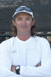 Dimitar Yazadzhiev runs the Oceanside School of Tennis.