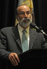 <strong>DRILLING PATROL:</strong>  Bureau of Ocean Energy Management, Regulation and Enforcement's honcho Michael Bromwich (pictured), was in town this week as the newly formed agency works to gather testimony in hopes of revamping safety protocols and requirements for ocean-bound oil harvesting in the United Sates.