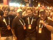 The Island Brewing team at GABF.