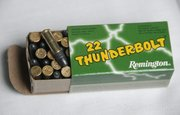 Lead: 22 long rifle, 40 RN-L (round nose)