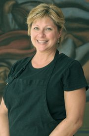 Brenda Simon of the S.B. Museum Café