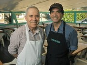 Isidoro and Martin Gonzalez of La Super-Rica