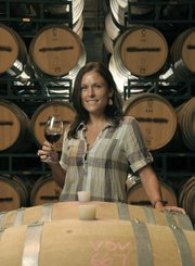 Christina Shadle, Carr Winery server.