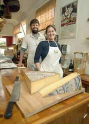 C'est Cheese owners Michael & Kathryn Graham