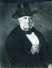 Carlos Antonio Carrillo, portrait by Leonardo Barbieri.