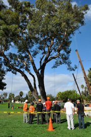 The 9th Annual Climbing Invitational held at Chase Palm Park last weekend.