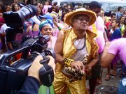 The first massive gay pride event in a Rio de Janeiro favela enjoyed a strong media presence.