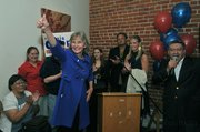 Lois Capps celebrates her re-election