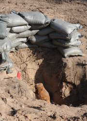 Vandenberg bomb techs unearthed this 200-pound bomb