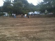 Prepping the Mesa Harmony Garden lot for planting
