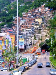 The area around the Zuzu Angel Tunnel's exit is key and dangerous. The tunnel, which goes under the mountain Dois Irmaos - home to various favelas - will most likely be the route taken by the BOPE the day they enter Rocinha.