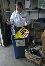 Rick Crandell describes how the Albertsons recycling program has been greatly expanded