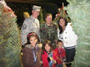 """Santa Barbara Bank & Trust's """"Trees for Troops"""" donations help to honor our local military families for their service."""