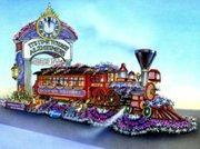 The Boomer Express design for Rose Bowl Parade