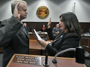 Randy Rowse sworn into the Santa Barbara City Council on December 14, 2010