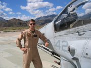 Dr. Brown's son, Navy Top Gun pilot Daniel.