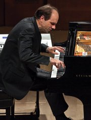 Christopher Taylor's recital at the Music Academy's Hahn Hall was a marathon of genius-level pianism.