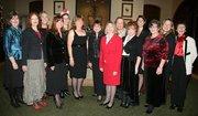 The 2011 NAWBO-SB Officers and Board:  From left: Karen Mora, Education Chair; Jennifer Favell, Secretary; Suzanne McNelly, Membership Co-Chair; Karen Dwyer, PR Chair; Ruth Ann Bowe, Membership Co-Chair; Maeda Palius, President; Diana Bull, President-Elect; Catherine Dishion, MasterMind Chair; Judy Pirkowitsch, Treasurer; Melanie Doctors, Hospitality Chair; Joy Margolis, Legal Chair; Dawn Hampton, Past President; Jeralyn Ehlers, Sponsorship Chair; Cathy Feldman, Executive Director. Not shown: Judy Egenolf, Program Chair; Chanda Fetter, Membership Co-Chair.