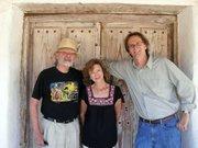 Santa Barbara's three Poet Laureates in a photo taken for California Arts Day 2009; Barry Spacks, 2005-2007; Perie Longo, 2007-2009; and current Poet Laureate David Starkey, 2009-2011.