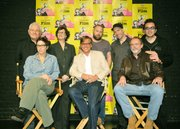 2011 SBIFF Writer's Panel L to R David Seidler (The King's Speech), Lisa Cholodenko (The Kids Are Alright), Anne Thompson (moderator), Aaron Sorkin (The Social Network), Scott Silver (The Fighter), Michael Arndt (Toy Story 3), Charlie Mitchell (Get Low), and Roger Durling (SBIFF Exec. Dir.)
