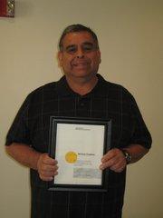 Superintendent of Maintenance Mike Cardona