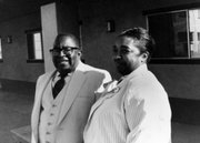 <strong>FOUNDING FOODBANK:</strong>  Among other philanthropic black citizens, Herman and Valencia Nelson began delivering surplus government food to hungry Eastside residents, a service that eventually became the Foodbank of Santa Barbara.