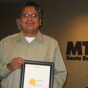 "September – December 2010 ""Employee of the Quarter,"" Antonio (Tony) Ruiz"
