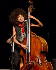 Esperanza Spalding at UCSB on Sunday, February 27 at Campbell Hall.