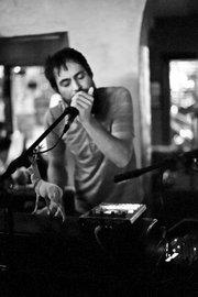 Hosannas' Richard Laws at Muddy Waters Cafe