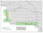 Santa Barbara County Tsunami map, March 11, 2010